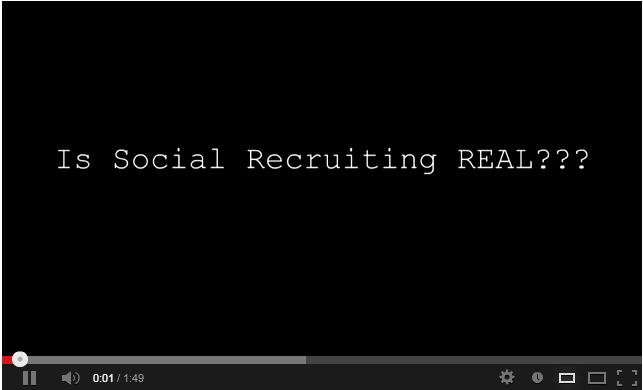 Social Recruiting Is The New Trend