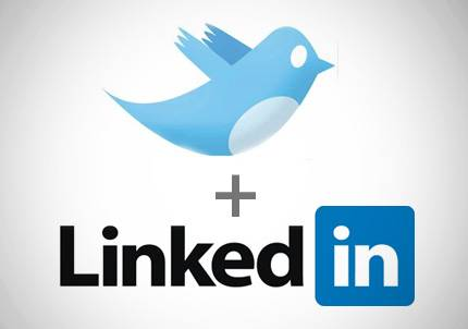 Twitter and LinkedIn, Oil and Water or Oil and Vinegar?