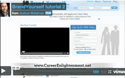 Brand-Yourself.com Tutorial