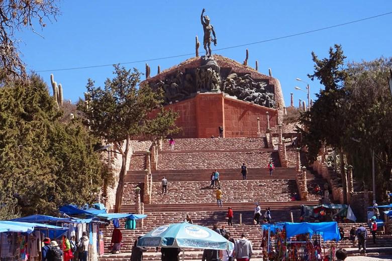 Monumento a los Héroes de la Independencia, Humahuaca