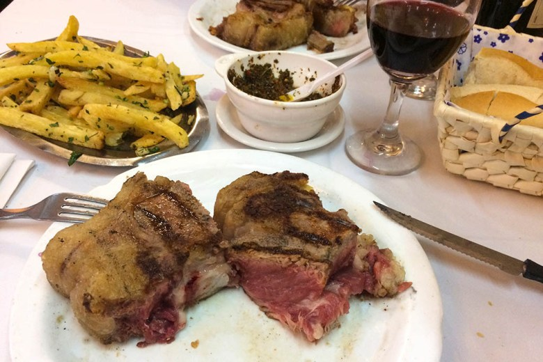 Desnivel in San Telmo was a great place for an authentic local steak experience