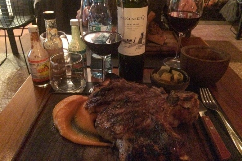 Seeking the best steak in Buenos Aires: La Carniceria, Palermo