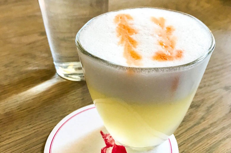 Peru and Chile contest an animated rivalry over where the pisco sour truly originated
