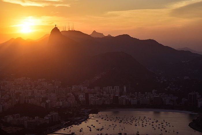 City view from Sugar Loaf Mountain - Rio de Janeiro - Brazil