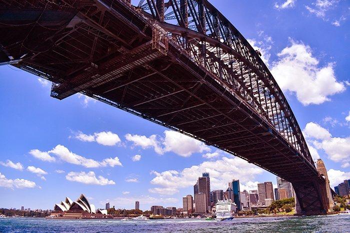 Harbour Bridge and Opera House - Sydney - Australia