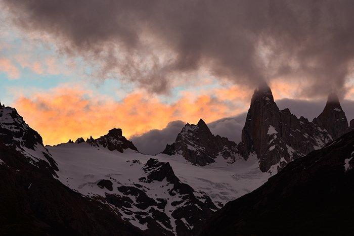 Mount Fitzroy sunset - El Chalten - Argentina