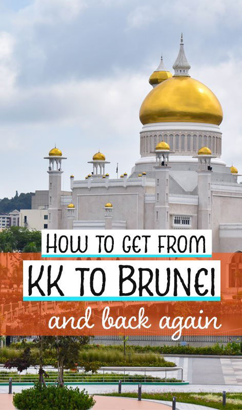 If you're stopping by at KK on Borneo island, Malaysia, this is how you can take a ferry via Labuan to Bandar Seri Begawan, Brunei.