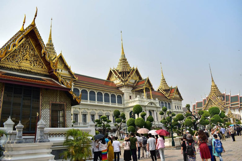 What to do in Bangkok: the Grand Palace is a must-see attraction in the city