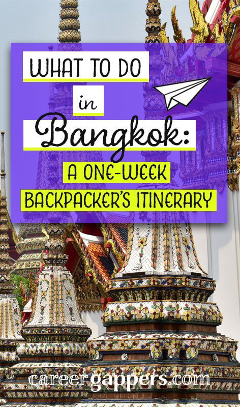 Stuck for inspiration on what to do in Bangkok? It's a huge and choatic city. So little time, so much to see! Here's our Bangkok itinerary for a week in Thailand's enigmatic capital. Bangkok travel   Thailand travel   things to do in Bangkok