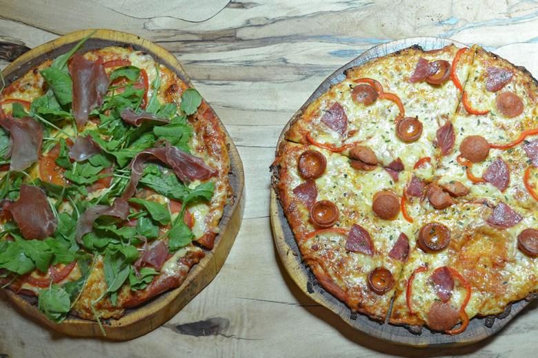 We had pizzas in Pizzeria El Charrua in San Pedro de Atacama