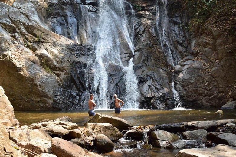 Chiang Mai trekking: secluded waterfalls