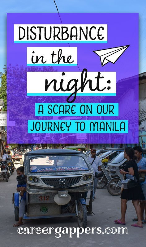 Travelling overnight across Palawan island to make a morning flight to Manila, we encountered some trouble. This story is the single exception to our overwhelmingly pleasant experience with people in the Philippines during our stay.