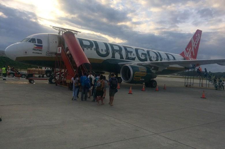 El Nido to Manila flight