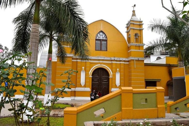 Iglesia La Ermita, Barranco