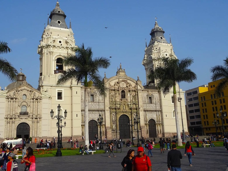 Plaza Mayor, at the heart of Lima's historic centre, is a good pivot point for exploring Lima in 2 days