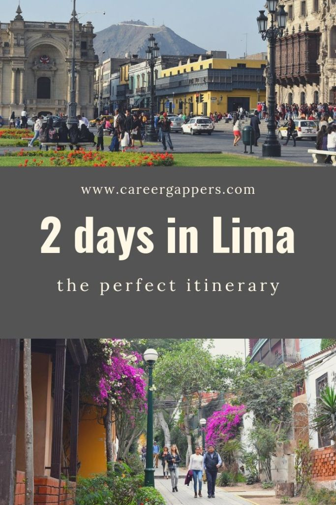 Our jam-packed itinerary uncovers the perfect way to explore Lima in 2 days. Experience the culture, history and vitality of Peru's capital city. #lima #limaperu #limaitinerary #southamerica #travelitinerary