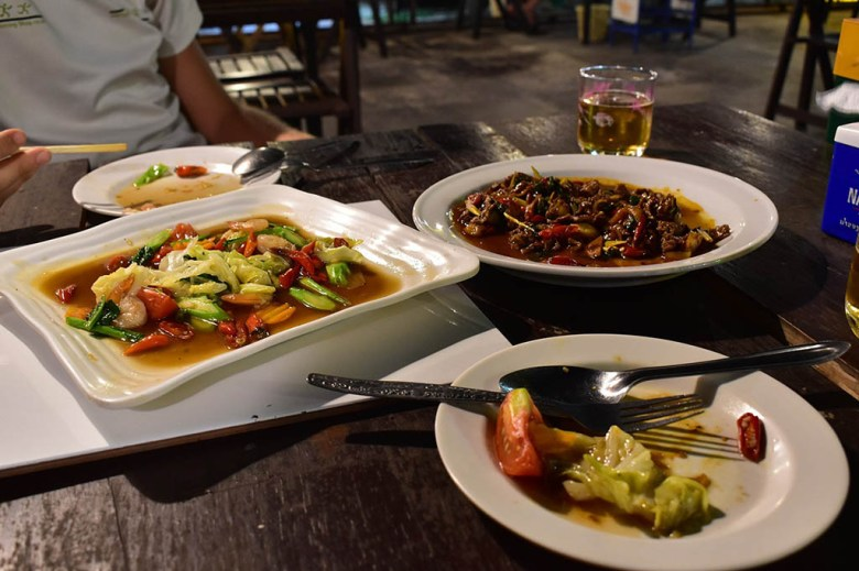 Local food in Numphu Savannakhet