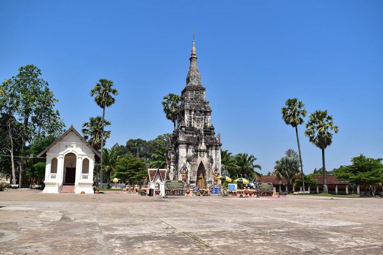 Things to do in Savannakhet: the historic stupa of That Ing Hang is a highlight
