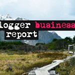 Blogger business report