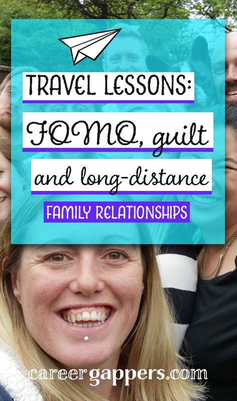 Every traveller knows that long-distance family relationships are not easy, and extended trips abroad can be laced with guilt and FOMO. Here are my reflections on our experiences while we were away, and what it was like to see everyone again.