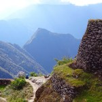 Hiking the Inca Trail: descending into the valley on the penultimate day