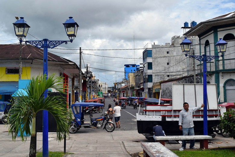 Iquitos is the biggest city in the Peruvian Amazon jungle