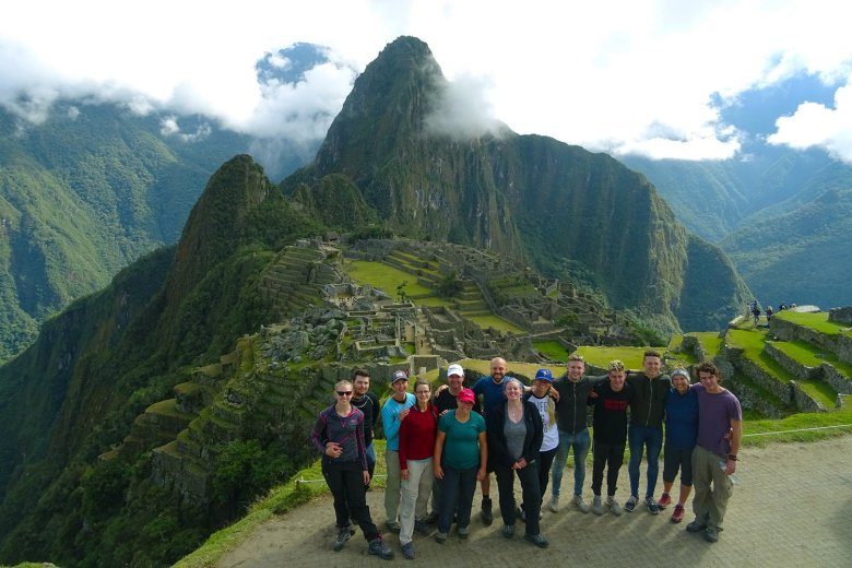 Success: we made it in one piece to Machu Picchu