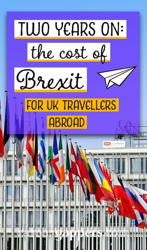 As a UK couple who travelled the world, how has Brexit affected our finances? An analysis of our actual travel spending in the context of pre-referendum exchange rates shows that we are £3,000–£3,500 out of pocket.