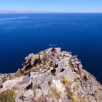 Lake Titicaca Bolivia style: spectacular views of the lake from Cerro Calvario