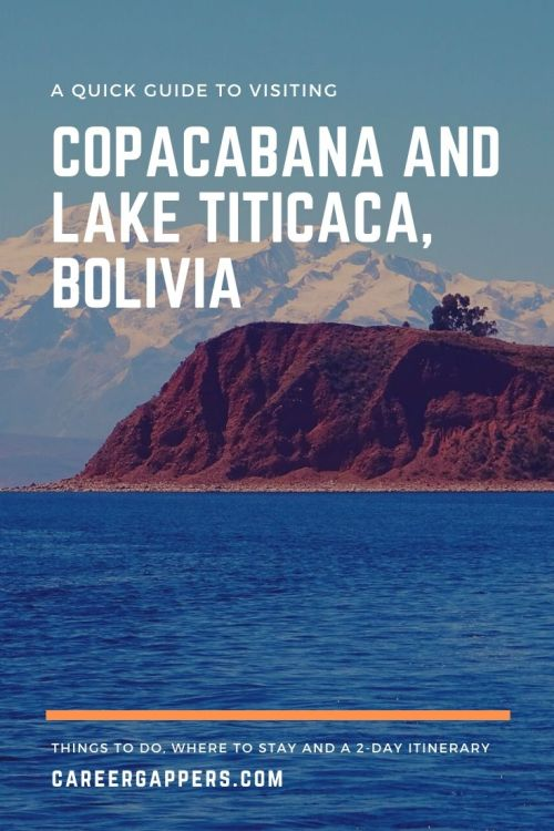 The pretty town of Copacabana is the perfect launchpad for exploring Lake Titicaca in Bolivia. Discover things to do, where to stay and a 2-day itinerary. #copacabana #bolivia #laketiticaca #titicacalake #copacabanabolivia
