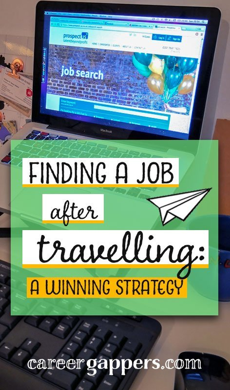 The uncertainty of finding a job after travelling might be what holds you back from your dream trip in the first place. I can tell you from first-hand experience that it isn't as scary as you imagine. By taking a structured approach and applying some simple measures, you can find the perfect job when your trip is over.