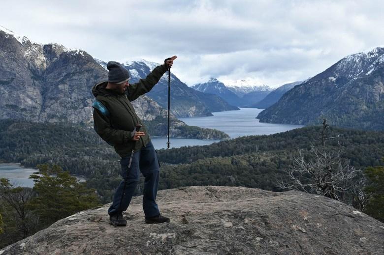The summit of Cerro Llao Llao was our favourite viewpoint in the Bariloche area