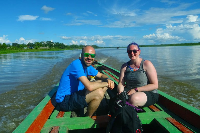 A two-day Amazon tour was our most expensive activity in Peru other than the Inca Trail