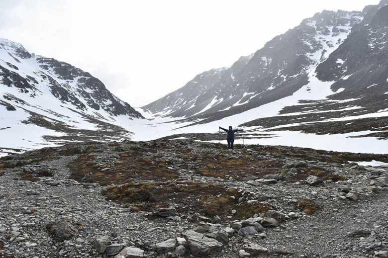 Glaciar Martial is a comfortable three-hour return hike near Ushuaia with spectacular views at the end