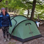 We spent a night of our El Chaltén trail in Camping Agostini, close to clean water and great views