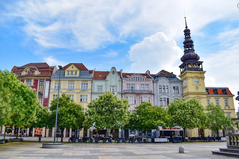 While in the Czech Republic I took the opportunity to explore and gather content material. This is Masaryk Square in Ostrava