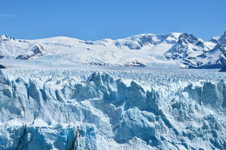 Perito Moreno Glacier is in the South Patagonian Ice Field, the world's largest body of ice outside Antarctica