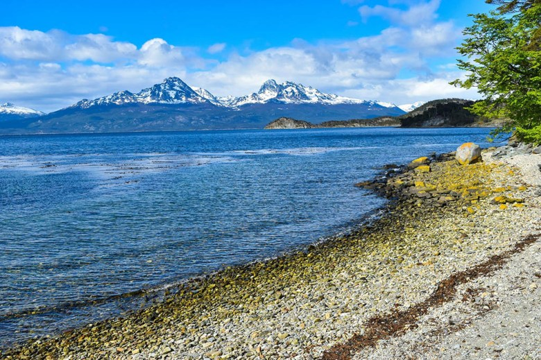 Tierra Del Fuego National Park near Ushuaia is full of majestic and moody scenery