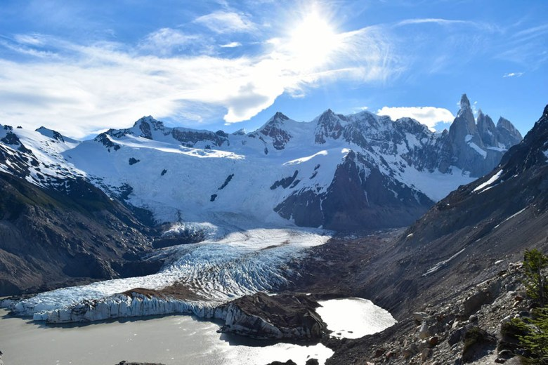 El Chaltén is the gateway to some spectacular hiking trails in Los Glaciares National Park