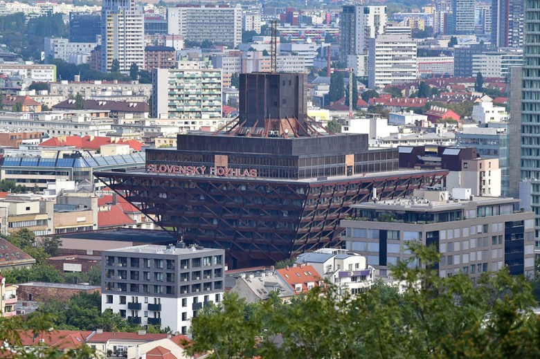 The Slovak Radio Building as been ranked among the world's ugliest constructions, but architects have defended it