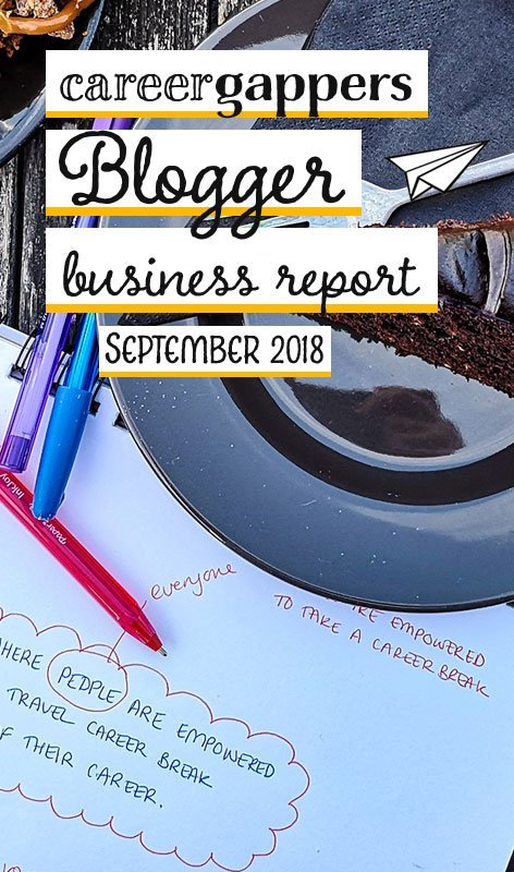 Each month we report on our progress as we attempt to build a thriving travel blogging business. This is our business report for September 2018.