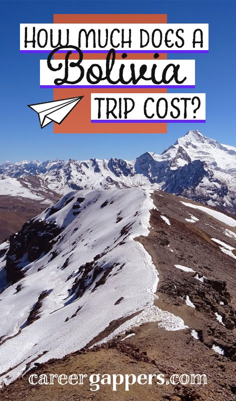 How much does a Bolivia trip cost? In this detailed report, we take a look at what we spent during a two-week trip across the beautiful Andean country.