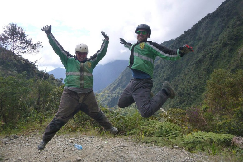 Activities, such as mountain-biking down Death Road, accounted for 43.4% of our Bolivia trip cost
