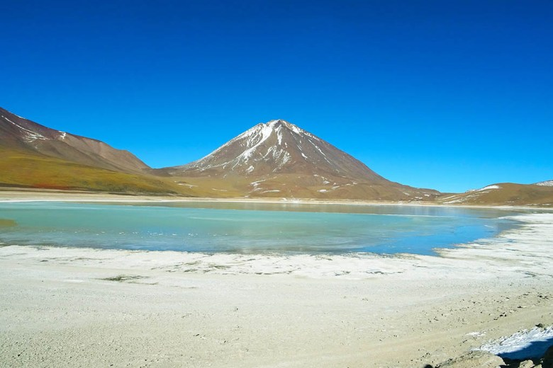 Laguna Verde is one of several lagoons included in the three-day tour