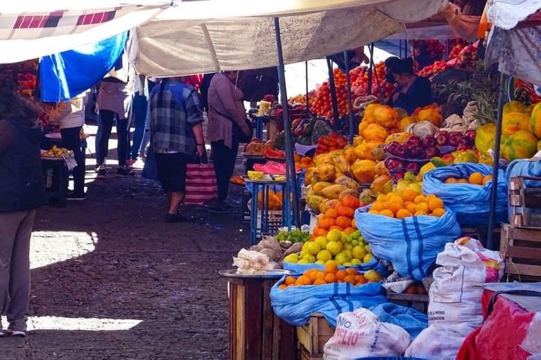 Mercado Central is Sucre's principal marketplace and a great place to try local food