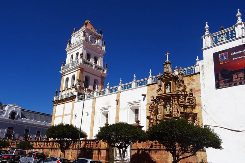 Sucre Metropolitan Cathedral is one of the city's iconic examples of colonial architecture