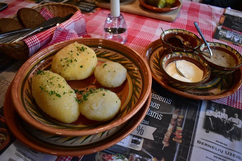 Potato is a prominent ingredient used in Lithuanian food, comprising the basis of the national dish cepelinai