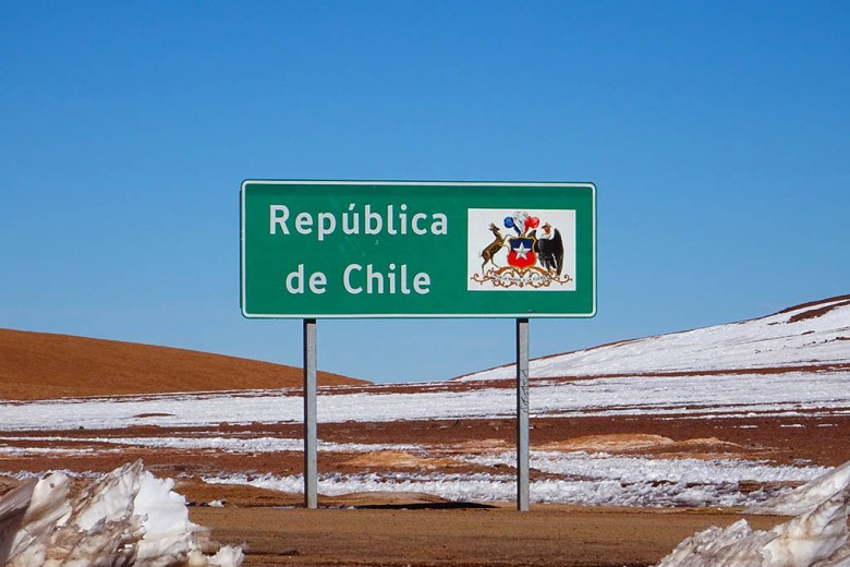 We crossed borders several time travelling between Chile and Argentina