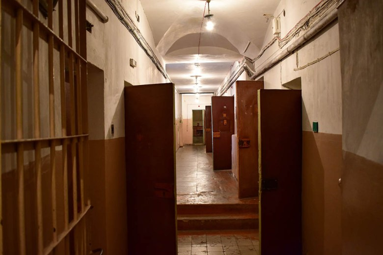 Preserved KGB prison cells in the basement of the Museum of Occupations and Freedom Fights