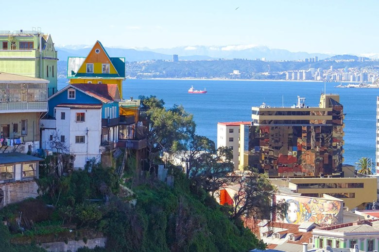 Valparaíso is a colourful port city less than two hours' bus ride from Santiago